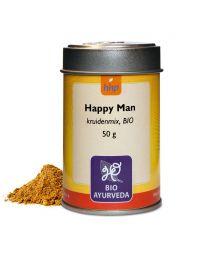 Happy Man kruidenmix, BIO 50 g